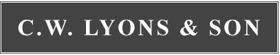C.W. LYONS & SON